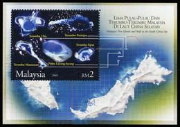 2005, Malaysia, Block 105, ** - Malaysia (1964-...)