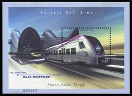 2002, Malaysia, Block 62, ** - Malaysia (1964-...)