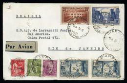 1937, Frankreich, Hab 551, Brief - Non Classés