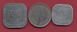 Allemagne 3 Kriegsgeld - Dans L 'état Lot N °16 - [ 2] 1871-1918: Deutsches Kaiserreich