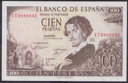Ref. 241-4486 - BIN SPAIN . 1965. 100 Pesetas 19th November 1965 - Gustavo Adolfo Becquer. 100 Pesetas 19 De Noviembre D - [ 3] 1936-1975: Regime Van Franco