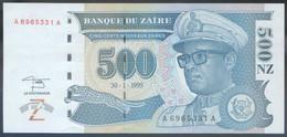 Ref. 3854-4291 - BIN ZAIRE . 1995. ZAIRE 500 NOUVEAUX ZAIRES 1995 - Zaire