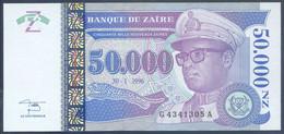 Ref. 3859-4296 - BIN ZAIRE . 1996. ZAIRE 50000 NOUVEAUX ZAIRES 1996 - Zaire