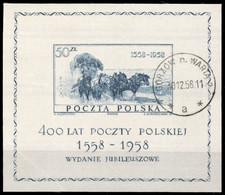 1958, Polen, Bl. 22, Gest. - Non Classificati