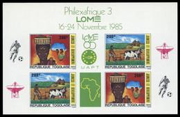 1985, Togo, 1858-59 KB Edl - Togo (1960-...)