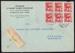 1946, Tschechoslowakei, 447 U.a., Brief - Unclassified