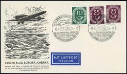 1952, Bundesrepublik Deutschland, PU 4 / 4, Cto - Unclassified