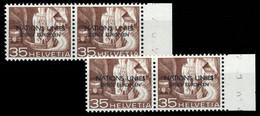 1950, Schweiz Europäisches Amt Der Vereinten Nationen ONU, 7 PF ... - Officials