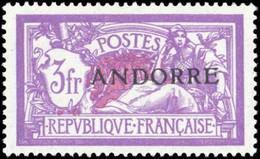 1931, Andorra Französische Post, 20, ** - Ohne Zuordnung