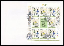 1990, Irland, 712-13 KB, FDC - Sin Clasificación