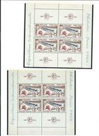 FRANCE : 2 Blocs De 4 Du N° 1422 Neufs ** Venant De  2 Fragments Du Bloc N° 6. Cote 300 € - Ungebraucht
