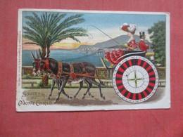 Embossed Souvenir  Monte-Carlo    Ref 4420 - Monte-Carlo