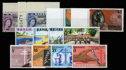 1963, Bahamas, 186-87 U.a., ** - Bahamas (1973-...)