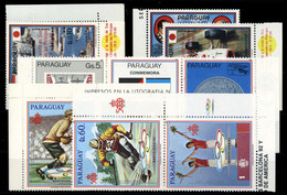 1986, Paraguay, 4037-43 U.a, ** - Paraguay