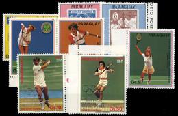 1986, Paraguay, 3957-59 U.a, ** - Paraguay