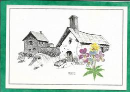 Vallouise (05) Chapelle Et Chalets D'Eychauda Cf. N°397963865 (illustration Par René Vallarino) 2scans 29-08-1994 - Other Municipalities