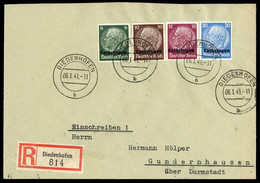 1940, Deutsche Besetzung II. WK Lothringen, 9 U.a., Brief - Occupation 1938-45