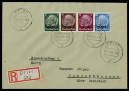 1940, Deutsche Besetzung II. WK Elsass, 9 U.a., Brief - Occupation 1938-45