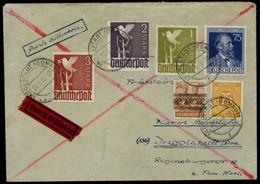 1948, Bizone, 44 I U.a., Brief - Amerikaanse-en Britse Zone