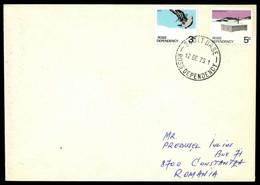 1972, Ross Gebiet, 9, 11 V, Brief - Sin Clasificación