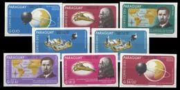 1966, Paraguay, 1599-1606, ** - Paraguay