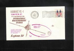 USA 1974 Space / Raumfahrt Explorer 52 Satellite Interesting Letter - Stati Uniti