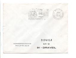 1 ER JOUR FLAMME PORT PAYE DE CHATEAU THIERRY AISNE 1971 - Poststempel (Briefe)