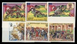 1989, Togo, 2119-21 B U.a., ** - Togo (1960-...)