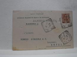 RAVENNA  ---   SILVERIO RIVALTA  -- COMMERCIO LEGNAMI  ECC. - Ravenna