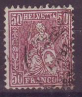 Suisse  Helvetia Assise N°48 Oblitéré - Unclassified