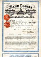 Company Limited LAKE COPAIS - Non Classés