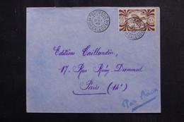 NOUVELLE CALÉDONIE - Enveloppe De Pouembout Pour Paris En 1949  - L 72679 - Cartas