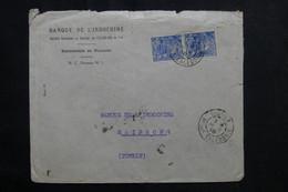 NOUVELLE CALÉDONIE - Enveloppe Commerciale De Nouméa Pour Haïphong En 1940 - L 72682 - Cartas