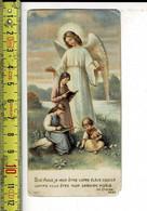 KL 7692 - BON ANGE JE VEUX ETRE  VOTRE ELEVE DOCILE COMME VOUS ETES MON GARDIEN FIDELE - Devotion Images