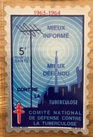 VIGNETTE TUBERCULOSE 1963 GRAND FORMAT 5F - MNH - Tegen Tuberculose