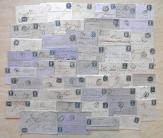 LOT De 50 LETTRES CLASSIQUES De FRANCE - DEPART 1 EURO - 1849-1876: Classic Period