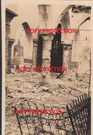 Photo Originale, Bombardement Mai 1940 : Eglise De Lessines / Lessen - Lessines