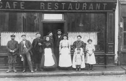 RESTAURANT-CAFE-CARTE-PHOTO-A SITUER - Ristoranti