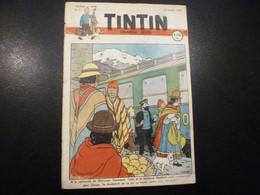 JOURNAL TINTIN N°11 1947 Couverture Hergé - Tintin