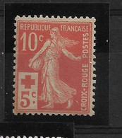 FRANCE   N° 147  NEUF SANS CHARNIERE - 1906-38 Semeuse Con Cameo