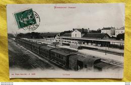 CPA - MIRECOURT - La Gare (intérieur) - Train En Gare - Mirecourt