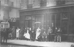 RESTAURANT-DE LA VILLA -CARTE-PHOTO-A SITUER - Restaurants