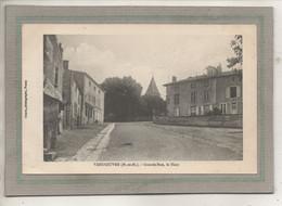 CPA - (54) VANDOEUVRE - Aspect Du Haut De La Grande-Rue En 1919 - Vandoeuvre Les Nancy