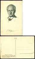Deutschland Postkarte Gerhart Hauptmann Nicht Benutzt - Non Classés