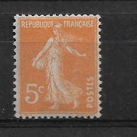 FRANCE   N° 158  NEUF SANS CHARNIERE - 1906-38 Semeuse Con Cameo