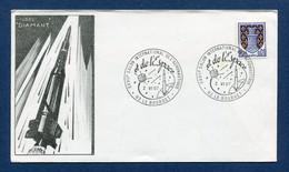 ⭐ France - FDC - Premier Jour - Poste Aérienne - PA - Salon International De L'aéronautique - 1967 ⭐ - 1960-1969