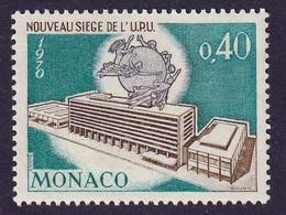 MONACO - Nouveau Siège De L'U.P.U. - Y&T N° 827 - 1970 - Nuevos