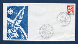 ⭐ France - FDC - Premier Jour - Poste Aérienne - PA - Salon International De L'aéronautique - 1973 ⭐ - 1970-1979