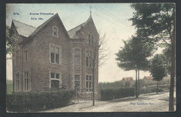 +++ CPA - SPA - Avenue Clémentine - Villa Ida - Couleur 1908   // - Spa