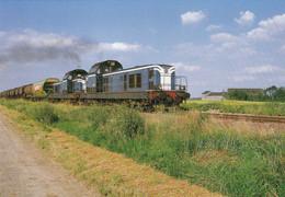 Loiret - Pithiviers-le-Vieil - Ligne De Pithiviers à Orléans - Trains De Marchandises Tracté Par Une UM De BB 66000 - Pithiviers